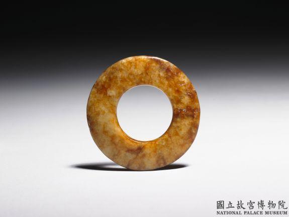 新石器时代晚期素系璧