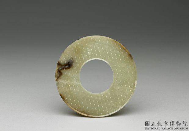 战国中期至西汉刻字縠纹璧
