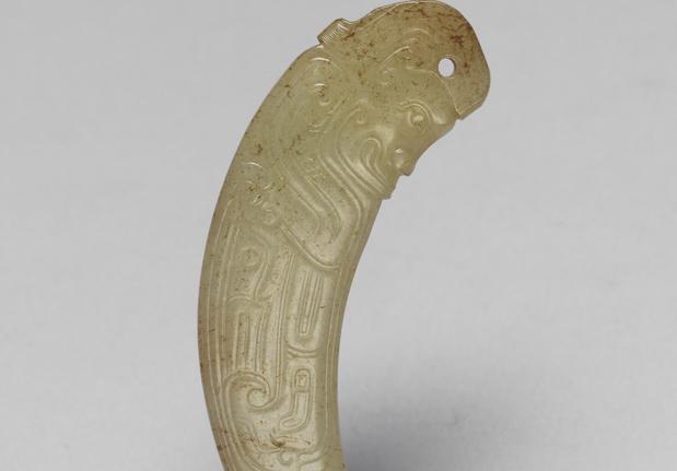 西周中期神人纹觿