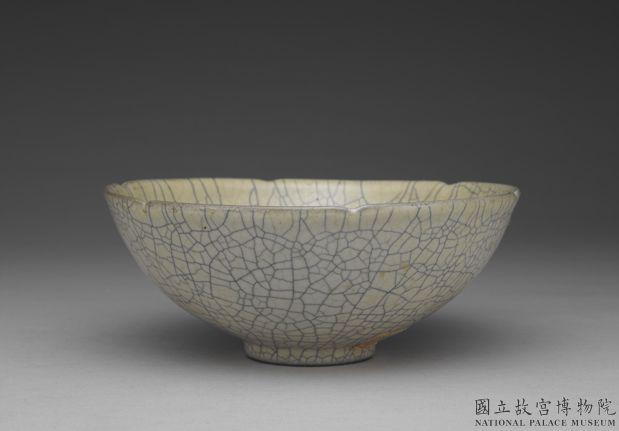 元青瓷葵口碗